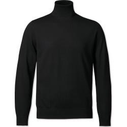 Merino Roll Neck Merino Wool Jumper - Black Size Large by Charles Tyrwhitt found on Bargain Bro UK from charles tyrwhitt shirts eu