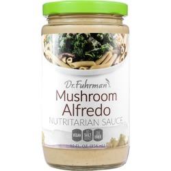 Dr. Fuhrman Mushroom Alfredo