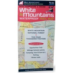 White Mountains Waterproof Trail Map