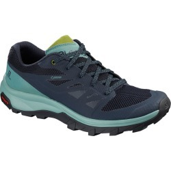 Salomon Women's Outline Gtx Waterproof Low Hiking Shoes - Size 8.5 found on Bargain Bro Philippines from Eastern Mountain Sports for $130.00