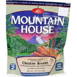 Mountain House Grilled Chicken Breasts And Mashed Potatoes W
