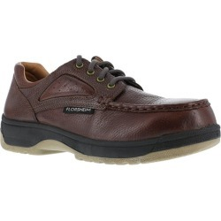 Florsheim Work Women's Compadre Composite Toe Eurocasual Moc Toe Oxford Shoe, Dark Brown