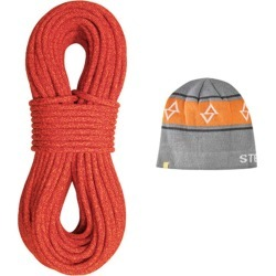 Sterling Rope Co. Fusion Iron R Dry Xp Climbing Rope With Beanie