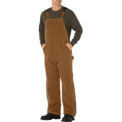 Dickies Men's Sanded Duck Insulated Bib Overalls found on Bargain Bro India from Eastern Mountain Sports for $94.99