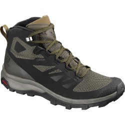 Salomon Men's Outline Mid Gtx Waterproof Hiking Boots - Size 9.5 found on Bargain Bro Philippines from Eastern Mountain Sports for $150.00