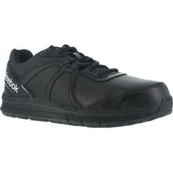 Reebok Work Men's Guide Work Steel Toe Work Shoes, Black, Wide