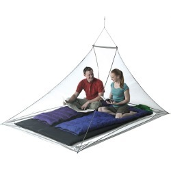 Sea To Summit Double Nano Mosquito Pyramid Net With Insect Shield