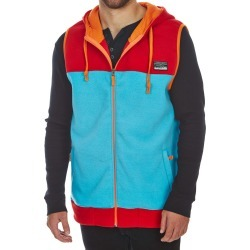 Free Nature Guys' Hooded Polar Fleece Zip-Up Vest