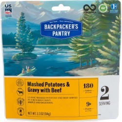 Backpacker's Pantry Mashed Potatoes W/ Gravy And Beef