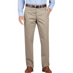 Dickies Men's Dickies Khaki Regular Fit Tapered Leg Flat Front Pant found on Bargain Bro India from Eastern Mountain Sports for $39.99