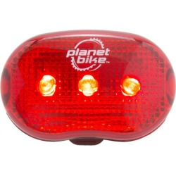 Planet Bike Blinky 3 Bike Tail Light found on Bargain Bro India from Eastern Mountain Sports for $4.98