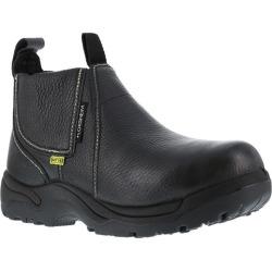 """Florsheim Work Men's Hercules Steel Toe Quick Release 6"""" Metatarsal Work Boot, Black"""