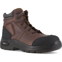 """Reebok Work Men's Trainex Composite Toe 6"""" Work Boots, Wide"""