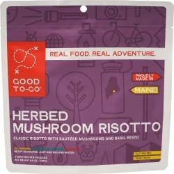 Good To-Go Herbed Mushroom Risotto