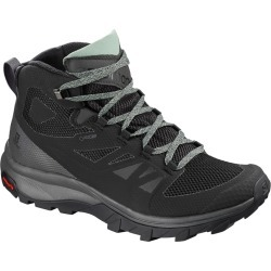 Salomon Women's Outline Mid Gtx Waterproof Hiking Boots - Size 7 found on Bargain Bro Philippines from Eastern Mountain Sports for $150.00