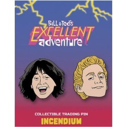 Bill & Ted`s Excellent Adventure Bill and Ted Lapel Pin 2-Pk