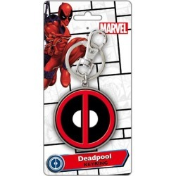 Deadpool Logo Metal Key Chain found on Bargain Bro India from entertainmentearth.com for $6.99