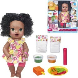 Baby Alive My Super Snackin Baby Doll (AA), Not Mint