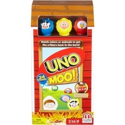Uno Moo Card Game