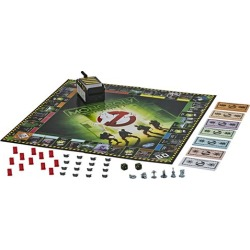 Ghostbusters Edition Monopoly Game