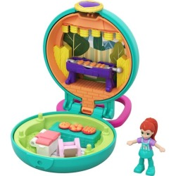 Polly Pocket Tiny Pocket Places Lila BBQ Compact found on Bargain Bro from entertainmentearth.com for USD $3.79