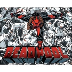 Deadpool Body Pile Canvas Print found on Bargain Bro India from entertainmentearth.com for $24.99