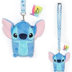 Lilo & Stitch Deluxe Lanyard with Card Holder found on GamingScroll.com from entertainmentearth.com for $11.99