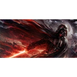 Star Wars Conquering Shadow Canvas Giclee Art Print found on Bargain Bro Philippines from entertainmentearth.com for $394.99