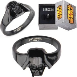 Star Wars Darth Vader 3-D Black Women's Ring found on MODAPINS from entertainmentearth.com for USD $49.99