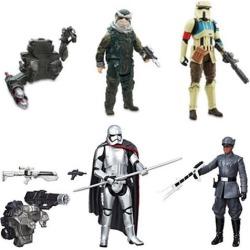 Star Wars Shoretrooper, Bistan, Finn, and Phasma Bundle