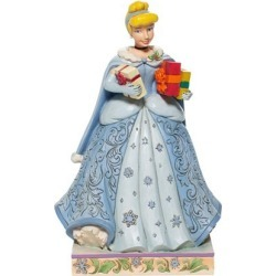 Disney Traditions Cinderella Christmas Statue by Jim Shore found on Bargain Bro India from entertainmentearth.com for $49.99