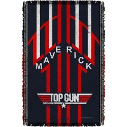 Top Gun Maverick Woven Tapestry Throw Blanket found on Bargain Bro India from entertainmentearth.com for $49.99