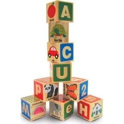 ABC 123 Wooden Blocks