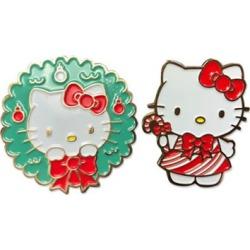 Hello Kitty 2017 Holiday Christmas Enamel Pin Set