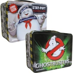 Ghostbusters Stay Puft Tin Tote Lunch Box found on Bargain Bro from entertainmentearth.com for USD $12.91