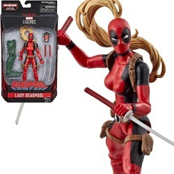Deadpool Marvel Legends Lady Deadpool Figure, Not Mint found on Bargain Bro India from entertainmentearth.com for $16.49