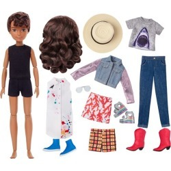 Creatable World Deluxe Character Kit DC-826 Doll