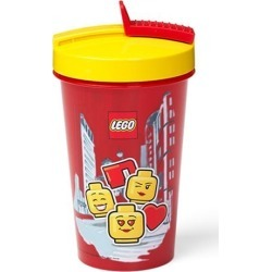 LEGO Iconic Girl Tumbler with Straw found on Bargain Bro India from entertainmentearth.com for $7.99