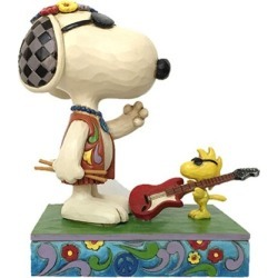Peanuts Snoopy and Woodstock Concert Goers Jim Shore Statue found on Bargain Bro India from entertainmentearth.com for $59.99