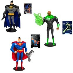 DC Animated Wave 1 7-Inch Action Figure Set found on Bargain Bro India from entertainmentearth.com for $59.99