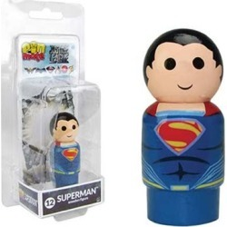 Justice League Movie Superman Pin Mate Wooden Figure found on Bargain Bro India from entertainmentearth.com for $4.99