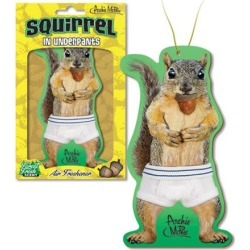 Squirrel in Underpants Air Freshener found on Bargain Bro from entertainmentearth.com for USD $3.03