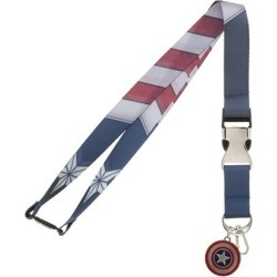 Captain America Suit-Up Lanyard found on GamingScroll.com from entertainmentearth.com for $8.99