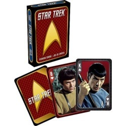 Star Trek Original Series Playing Cards found on Bargain Bro India from entertainmentearth.com for $5.99