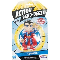 DC Comics Superman 4-Inch Action Bendables Action Figure