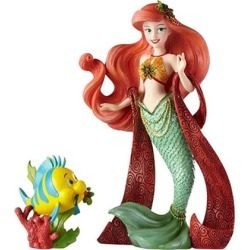 Disney Showcase The Little Mermaid Holiday Ariel & Flounder