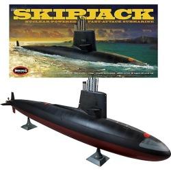 USS Skipjack SSN 585 Submarine Model Kit