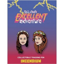 Bill & Ted`s Excellent Adventure Princesses Lapel Pin 2-Pack