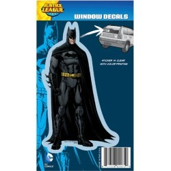 Justice League New 52 Batman Full Color Decal found on Bargain Bro India from entertainmentearth.com for $3.99