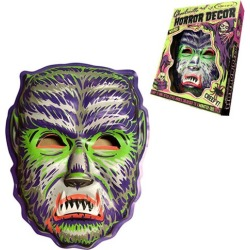 Ghoulville Midnight Man Wolf Vac-tastic Mask Wall Decor found on Bargain Bro India from entertainmentearth.com for $34.99